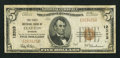 National Bank Notes:Missouri, Clayton, MO - $5 1929 Ty. 1 The First NB Ch. # 12333. ...