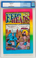 Silver Age (1956-1969):Alternative/Underground, Feds 'N Heads Second Printing (Print Mint, 1969) CGC NM 9.4 Whitepages....