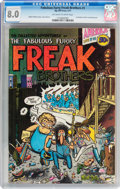 Bronze Age (1970-1979):Alternative/Underground, The Fabulous Furry Freak Brothers #1 First Printing (Rip Off Press, 1971) CGC VF 8.0 Off-white to white pages....