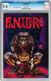 Fantagor #3 (Last Gasp, 1972) CGC NM+ 9.6 White pages