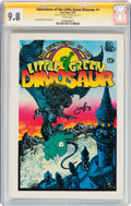 Bronze Age (1970-1979):Alternative/Underground, The Adventures of the Little Green Dinosaur #1 (Last Gasp, 1972) CGC Signature Series NM/MT 9.8 White pages....