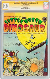 The Adventures of the Little Green Dinosaur #2 (Last Gasp, 1973) CGC Signature Series NM/MT 9.8 White pages