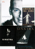Books:Biography & Memoir, [Frank Sinatra]. Group of Four Books about Frank Sinatra, OneSIGNED. Various publishers and dates.... (Total: 4 Items)