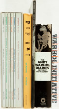 Books:Art & Architecture, [Andy Warhol]. Group of Five Books by or about Andy Warhol. Various publishers and dates.... (Total: 5 Items)
