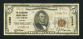National Bank Notes:Missouri, Saint Louis, MO - $5 1929 Ty. 1 The Telegraphers NB Ch. # 12389. ...