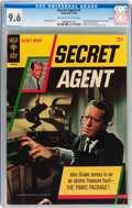 Silver Age (1956-1969):Adventure, Secret Agent #1 Boston pedigree (Gold Key, 1966) CGC NM+ 9.6 Off-white to white pages....