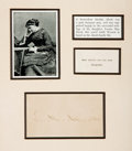Autographs:Authors, Louisa May Alcott Signature. ...
