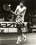 Autographs:Celebrities, Jimmy Connors Signed Photograph....