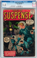 Silver Age (1956-1969):Science Fiction, Tales of Suspense #1 (Marvel, 1959) CGC FR/GD 1.5 Off-white pages....