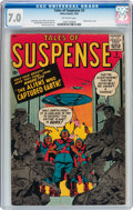 Silver Age (1956-1969):Science Fiction, Tales of Suspense #3 (Marvel, 1959) CGC FN/VF 7.0 Off-whitepages....