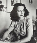 Photographs:Gelatin Silver, Alfred Eisenstaedt (American, 1898-1995). Hedy Lamarr at her home in Hollywood, 1938. Gelatin silver print on paper, 199...