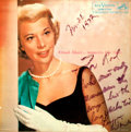 Autographs:Celebrities, Dinah Shore Moments Like This LP Sleeve Signed. ...