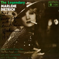 Autographs:Celebrities, Marlene Dietrich The Legendary Marlene Dietrich LP SleeveSigned. ...