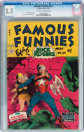 Golden Age (1938-1955):Science Fiction, Famous Funnies #211 (Eastern Color, 1954) CGC FN- 5.5 Off-white towhite pages....