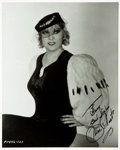 Autographs:Celebrities, Mae West Signed Photograph....