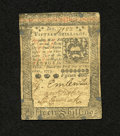 Colonial Notes:Pennsylvania, Pennsylvania October 1, 1773 15s Very Fine. Signatures are legibleon this example that was once mounted....