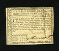 Colonial Notes:Rhode Island, Rhode Island July 2, 1780 $1 Fully Signed Choice New. Althoughtightly margined this Rhode Island note is somewhat special s...