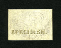Fractional Currency:Second Issue, Fr. 1283SP 25c Narrow Margin Specimen Second Issue Very Choice New. A lovely example of this narrow margin back specimen tha...