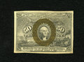 Fractional Currency:Second Issue, Fr. 1317 50c Second Issue Very Choice New. The margins are that of a gem but the back is centered just a little too low for ...