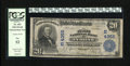 National Bank Notes:Pennsylvania, Tyrone, PA - $20 1902 Plain Back Fr. 653 The First NB Ch. # (E)4355. This is the first time a note from this institutio...