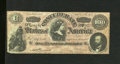 Confederate Notes:1864 Issues, T65 $100 1864. The design is boldly imprinted and the paper is original. Fine....