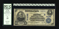 National Bank Notes:Pennsylvania, Philadelphia, PA - $5 1902 Date Back Fr. 593 The Northern NB Ch. #4192. PCGS Fine 15....