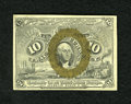 Fractional Currency:Second Issue, Fr. 1246 10c Second Issue About New. Handling and stamp hinge residue is noted on back....