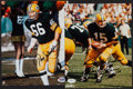 Football Collectibles:Photos, Bart Starr and Ray Nitschke Signed Photographs (2)....