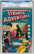 Golden Age (1938-1955):Science Fiction, Strange Adventures #41 (DC, 1954) CGC FN+ 6.5 Off-white to whitepages....