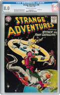 Silver Age (1956-1969):Science Fiction, Strange Adventures #98 (DC, 1958) CGC VF 8.0 Off-white to whitepages....