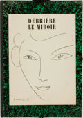 Books:Prints & Leaves, Henry Matisse, artist. Text by Jean Bazaine. Derriére Le Miroir, No. 46, May, 1952. . ...