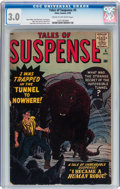 Silver Age (1956-1969):Horror, Tales of Suspense #5 (Marvel, 1959) CGC GD/VG 3.0 Cream tooff-white pages....