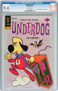 Bronze Age (1970-1979):Cartoon Character, Underdog #1 (Gold Key, 1975) CGC NM 9.4 Off-white pages....
