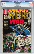 Bronze Age (1970-1979):War, Weird War Tales #1 (DC, 1971) CGC NM- 9.2 Off-white to white pages....