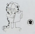 Animation Art:Production Drawing, Garfield and Friends Animation Drawings Group of 4 (FilmRoman, 1988-94).... (Total: 4 Original Art)