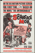 """Movie Posters:Crime, The Scarface Mob (Desilu, 1962). One Sheet (27"""" X 41"""") and Lobby Card Set of 8 (11"""" X 14""""). Crime.. ... (Total: 9 Items)"""