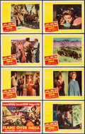 """Movie Posters:Adventure, Flame Over India & Others Lot (20th Century Fox, 1960). LobbyCard Set of 8, Title Lobby Card, and Lobby Cards (15) (11"""" X 1...(Total: 24 Items)"""