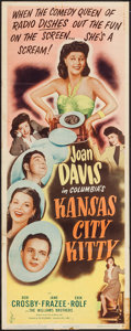 """Movie Posters:Comedy, Kansas City Kitty & Other Lot (Columbia, 1944). Insert (14"""" X 36"""") & One Sheet (27"""" X 41""""). Comedy.. ... (Total: 2 Items)"""