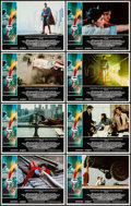 """Movie Posters:Action, Superman the Movie (Warner Brothers, 1978). Lobby Card Set of 8 (11"""" X 14""""). Action.. ... (Total: 8 Items)"""