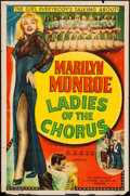 """Movie Posters:Comedy, Ladies of the Chorus (Columbia, R-1952). One Sheet (27"""" X 41"""").Comedy.. ..."""