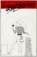 Original Comic Art:Covers, June Brigman and Roy Richardson Barbie Fashion #3 CoverOriginal Art (Marvel, 1991)....
