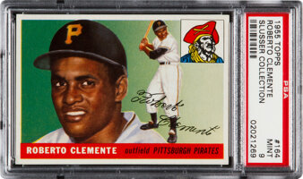 Featured item image of 1955 Topps Roberto Clemente #164 PSA Mint 9....