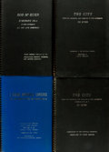 Books:Music & Sheet Music, [Sheet Music]. Rod McKuen. Group of Four Large Format Musical Scores, Including One in Manuscript with Hand Annotations by McK... (Total: 4 Items)