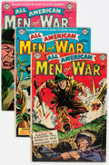 Golden Age (1938-1955):War, All-American Men of War #5-10 Group (DC, 1953-54) Condition:Average VG.... (Total: 6 Comic Books)