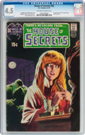 Bronze Age (1970-1979):Horror, House of Secrets #92 (DC, 1971) CGC VG+ 4.5 Off-white to whitepages....