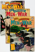 Golden Age (1938-1955):War, All-American Men of War #11-20 Group (DC, 1954-55) Condition:Average VG.... (Total: 10 Comic Books)