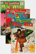 Golden Age (1938-1955):War, All-American Men of War #21-30 Group (DC, 1955-56) Condition:Average GD/VG.... (Total: 10 Comic Books)