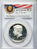 Proof Kennedy Half Dollars, 2014-P 50C Silver, 50th Anniversary Set, First Strike, John F.Kennedy PR70 Deep Cameo PCGS. PCGS Population (2524). NGC Ce...