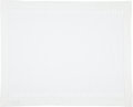 "Luxury Accessories:Home, Hermes Set of Eight; White Linen Place Settings. ExcellentCondition. 16"" Width x 20"" Length. ..."