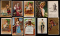 Non-Sport Cards:Lots, Sizeable 19th Century Trade Card Collection (91). ...